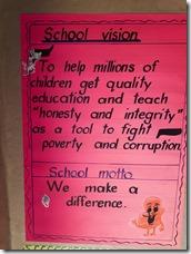 Schools vision