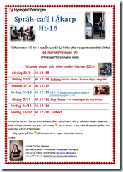 Affisch Språk-café Ht-16